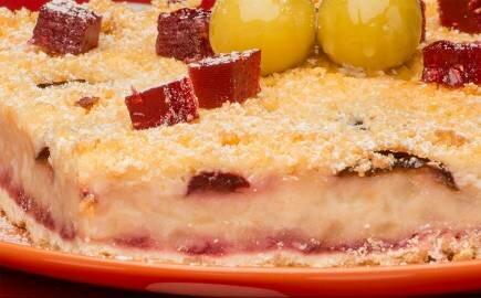 Торт Яблочный страйзел (постный)