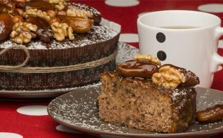 Торт Финиковый с пряностями (постный)