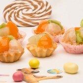 Тарталетки с фруктовым салатом