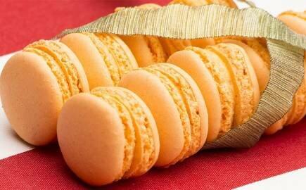 Набор Персиковых Macarons (540 гр.)
