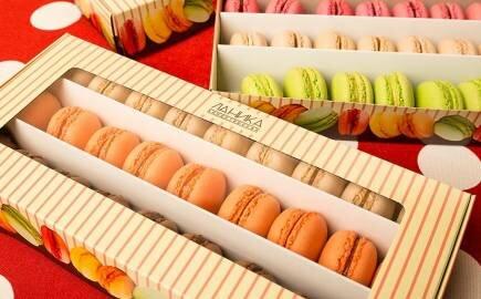 Набор Ягодных Macarons (540 гр.)