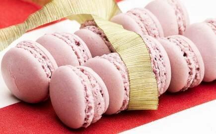 Набор черничных Macarons. (540 гр.)